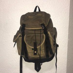 Gap vintage military style backpack